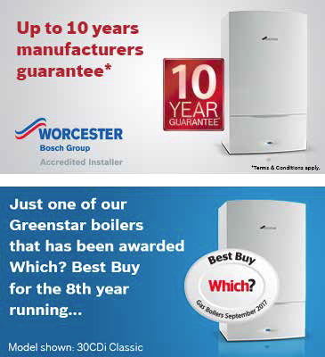 Worcester Boiler Guarantee Sutton-In-Ashfield